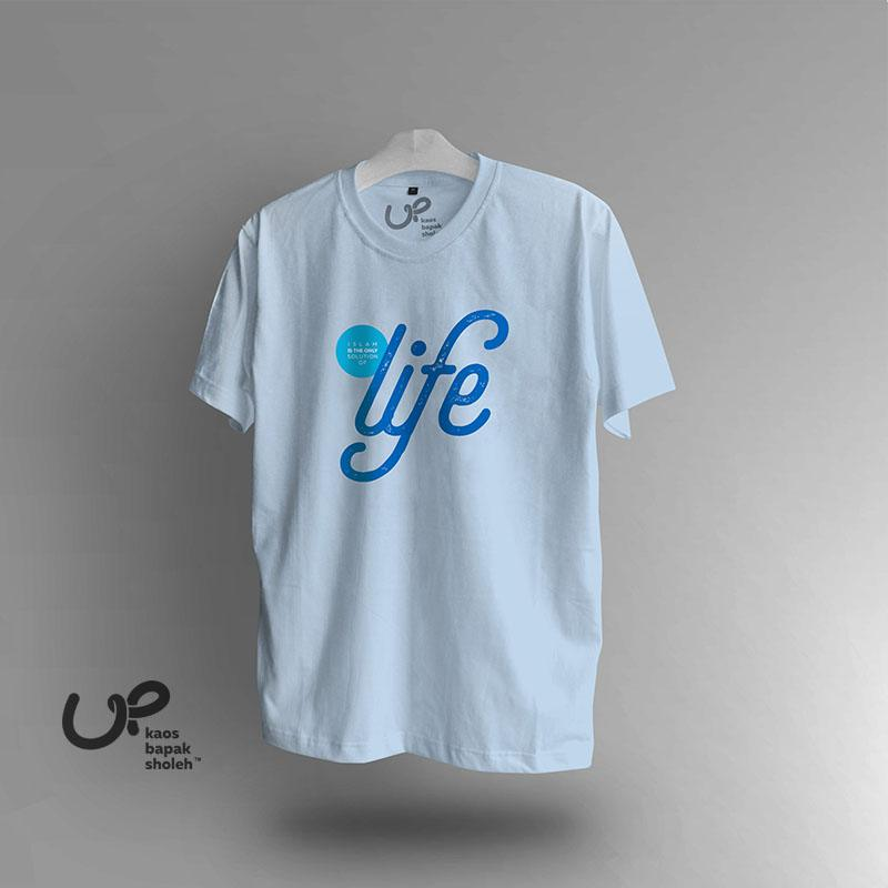 Preview Kaos Nasehat Islami: Islam Is The Only Solution Of Life