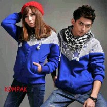 Jaket New Star Biru - 160.000