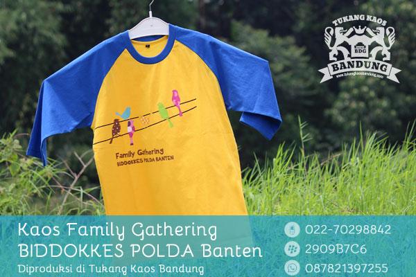 Kaos Family Gathering Polda Banten 1