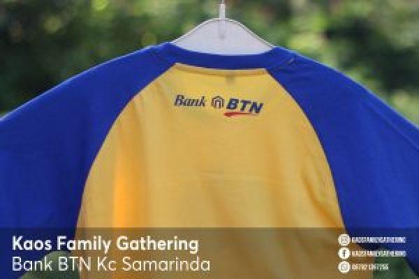 Kaos Family Gathering Bank BTN Kc Samarinda 3