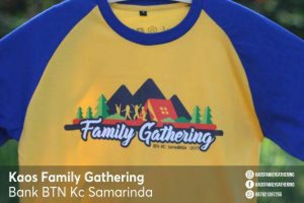 Kaos Family Gathering Bank BTN Kc Samarinda 4
