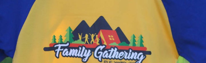 Kaos Family Gathering BTN Kc Samarinda