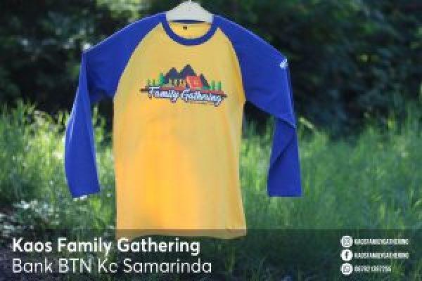 Kaos Family Gathering Bank BTN Kc Samarinda 1