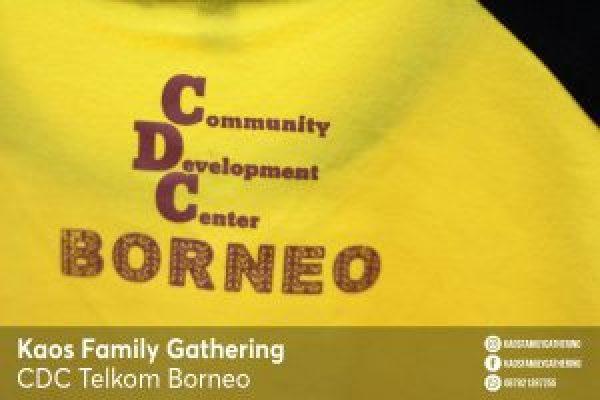 Kaos Family Gathering CDC Telkom Borneo 1