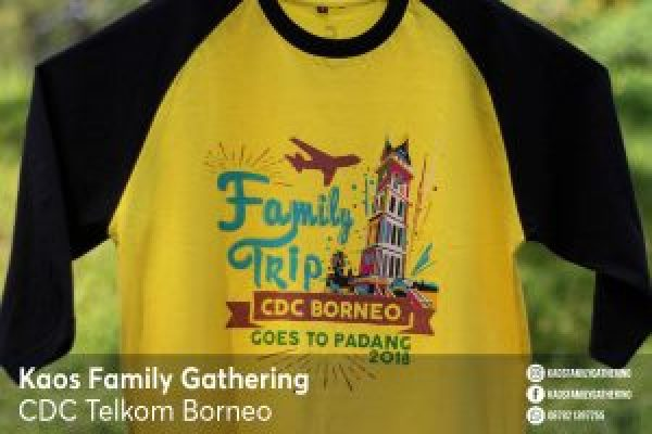 Kaos Family Gathering CDC Telkom Borneo 3