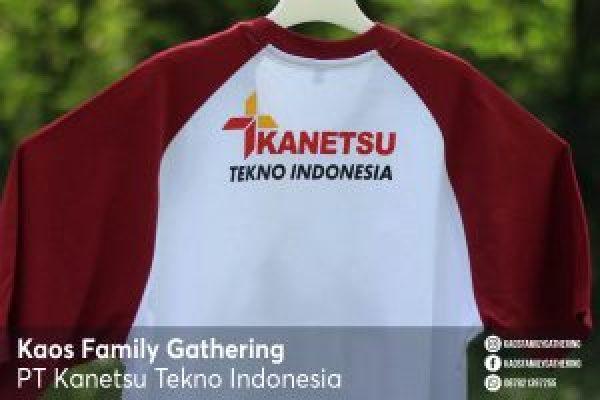 Kaos Family Gathering PT Kanetsu Tekno Indonesia 1