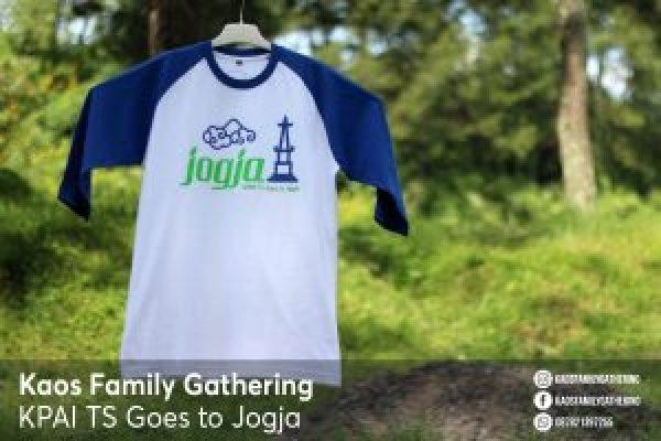 Kaos Family Gathering KPAI TS Goes to Jogja 1