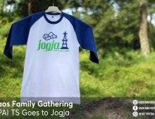 Kaos Family Gathering KPAI TS Ke Jogja