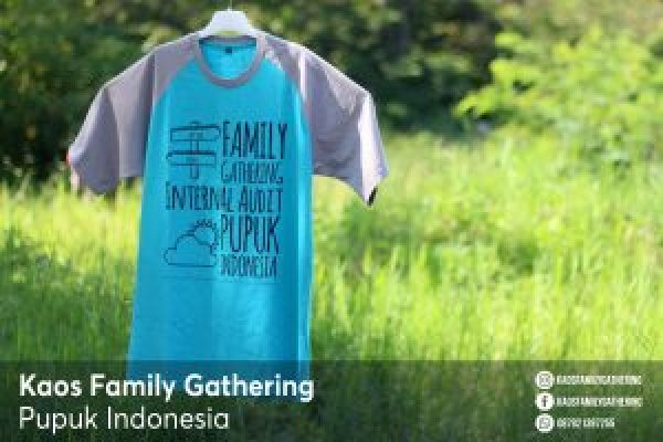 Kaos Family Gathering Pupuk Indonesia 4