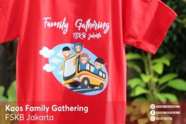 Kaos Family Gathering FSKB Jakarta 2