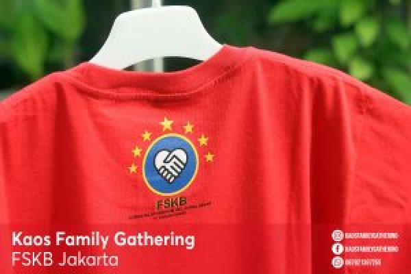 Kaos Family Gathering FSKB Jakarta 1