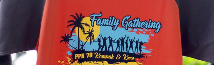 Kaos Family Gathering PPB79 UPI