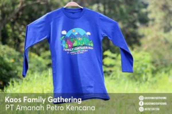 Kaos Family Gathering PT Amanah Petro Kencana 2