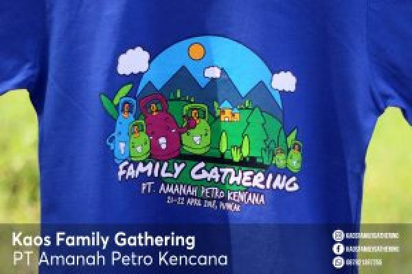 Kaos Family Gathering PT Amanah Petro Kencana 3