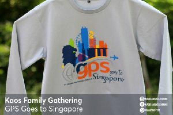 Kaos Family Gathering GPS to Singapore 2