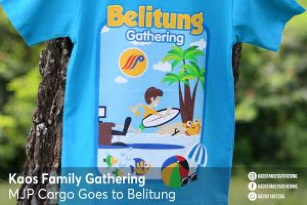 Kaos Family Gathering MJP Cargo Goes to Belitung 2