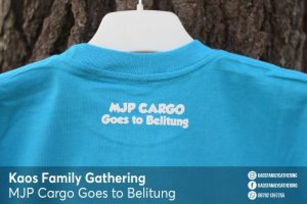 Kaos Family Gathering MJP Cargo Goes to Belitung 4
