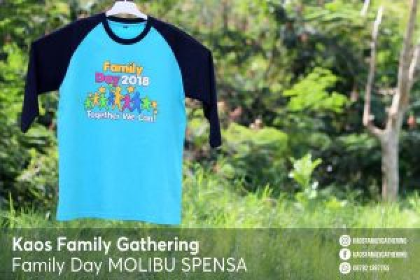 Kaos Family Day Molibu SPENSA 2018 2