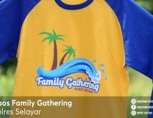 Kaos Family Gathering Polres Selayar