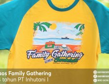 Kaos Family Gathering PT INHUTANI I