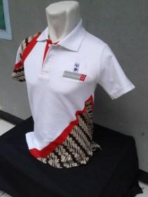 Polo Shirt Tampak Samping Kiri