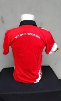 Kaos batik Berkerah PBSI