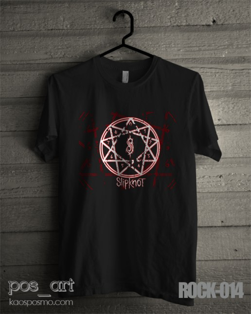 kaos rock n roll #14 slipknote