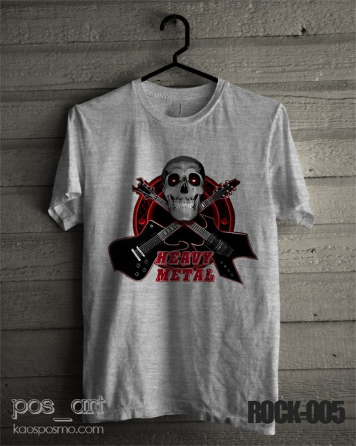 kaos rock n roll #5 heavy metal 2