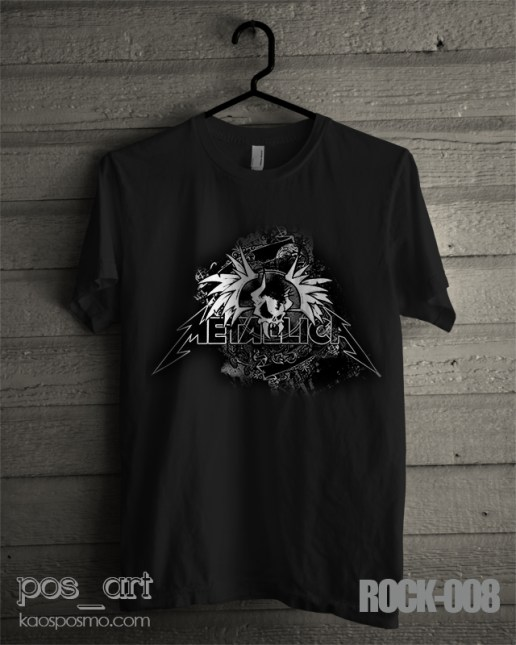 kaos rock n roll #8 metallica