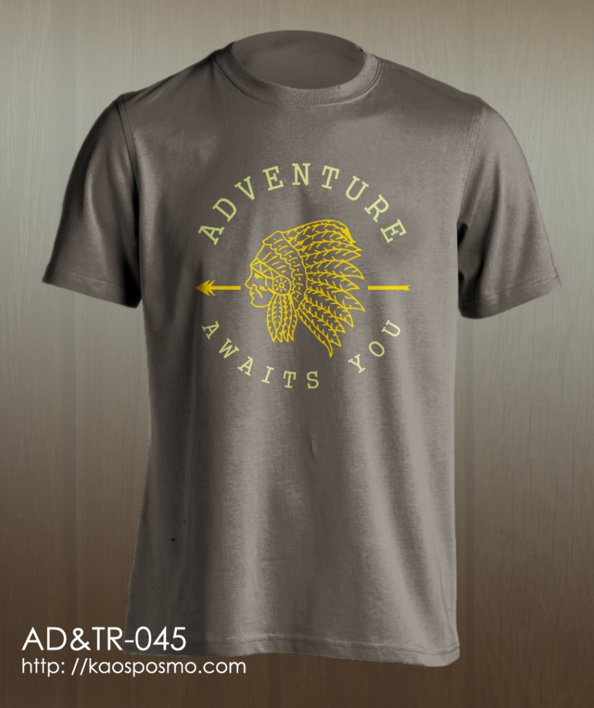 kaos adventure dan traveling: adventure awaits you.