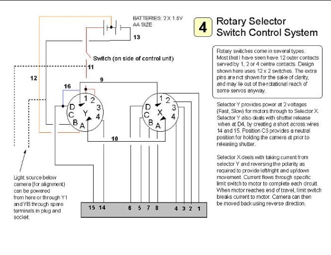 rotary switch wiring schematic rotary image wiring 3 position rotary switch wiring diagram 3 image on rotary switch wiring schematic