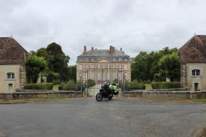 Eindrucksvolle Chateaus auf dem Land