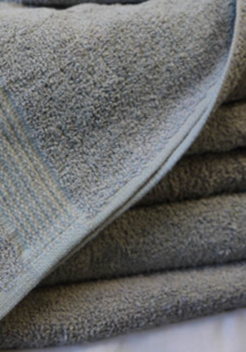 Gray Bath Towel