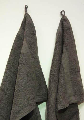Fingertip Kitchen Dark Brown Towel