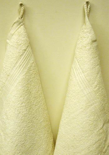 Fingertip Kitchen Off White Towels