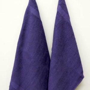 Fingertip Violet Towels