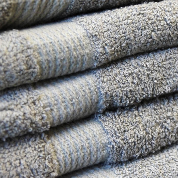 27x54 Premium Bath Towels in Mouse Gray