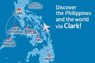 PAL flights from CLARK (source: PAL website)