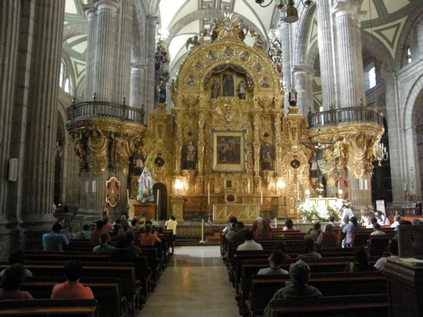 Mexico city kerk