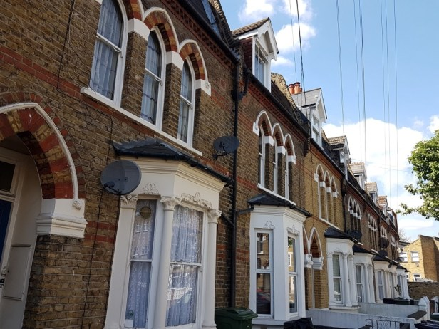 Brixton londen straatbeeld