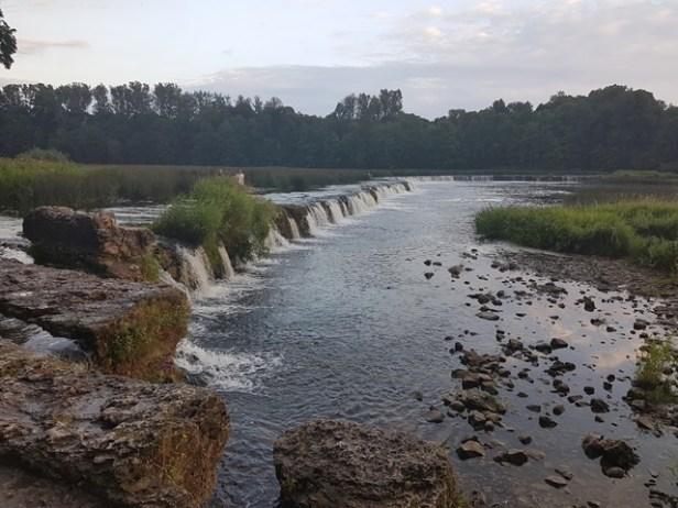 Kuldiga waterval Letland