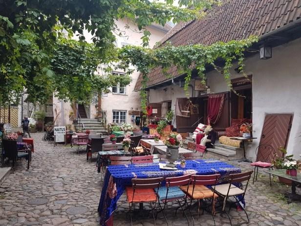 Tallinn oude stad Estland Estonia