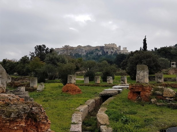 archeologische sites Athene Agora