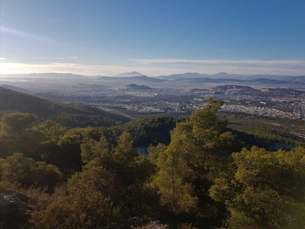 Athene Imittos uitzicht