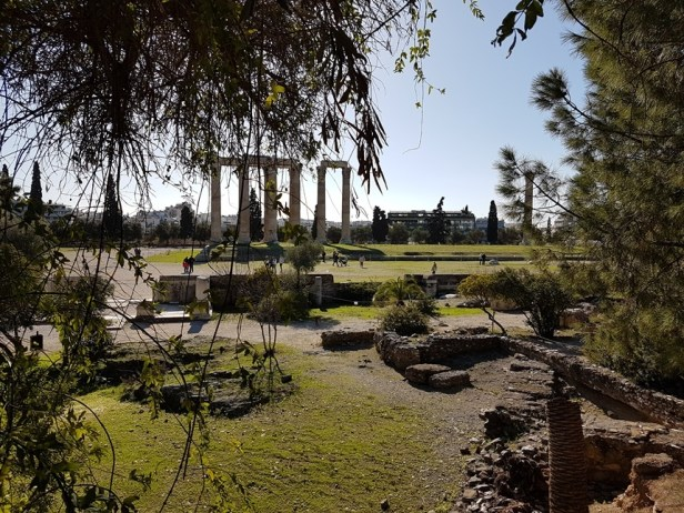 Olympisch Zeus tempel Athene