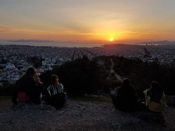 uitzicht Athene Filopappos