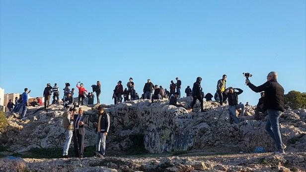 Athene March uitzicht