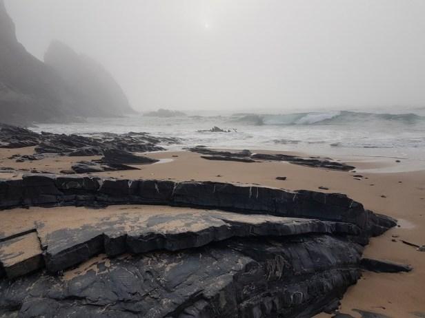 strand mist westkust algarve
