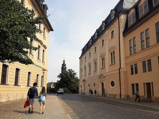 Weimar straatbeeld