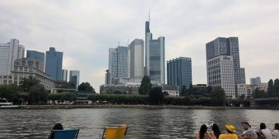 Frankfurt main skyline